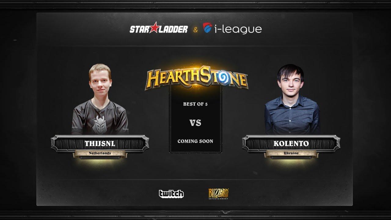 [EN] ThijsNL vs Kolento | SL i-League Hearthstone StarSeries Season 3 (30.05.2017)