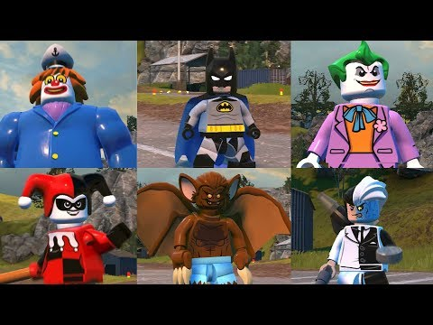 LEGO DC Supervillains - Batman Animated 8 New Characters