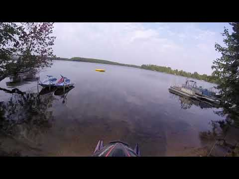 97 vmax 600 water skipping