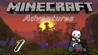 Minecraft Adventures / Ep. 1 / WOOHOO MODS! / w/ Silverback