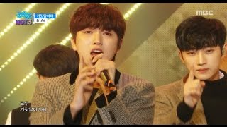 Repeat youtube video [Comeback Stage] B1A4 - A lie, 비원에이포 - 거짓말이야 Show Music core 20161203