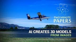 AI-Erstellt 3D-Modelle Aus Bildern | Zwei Minute Papers #186