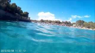 Snorkeling Cala Mondrago Mallorca SJ4000