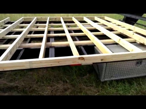 How to build your own tiny house on wheels from expanding the trailer to framing the walls and roof