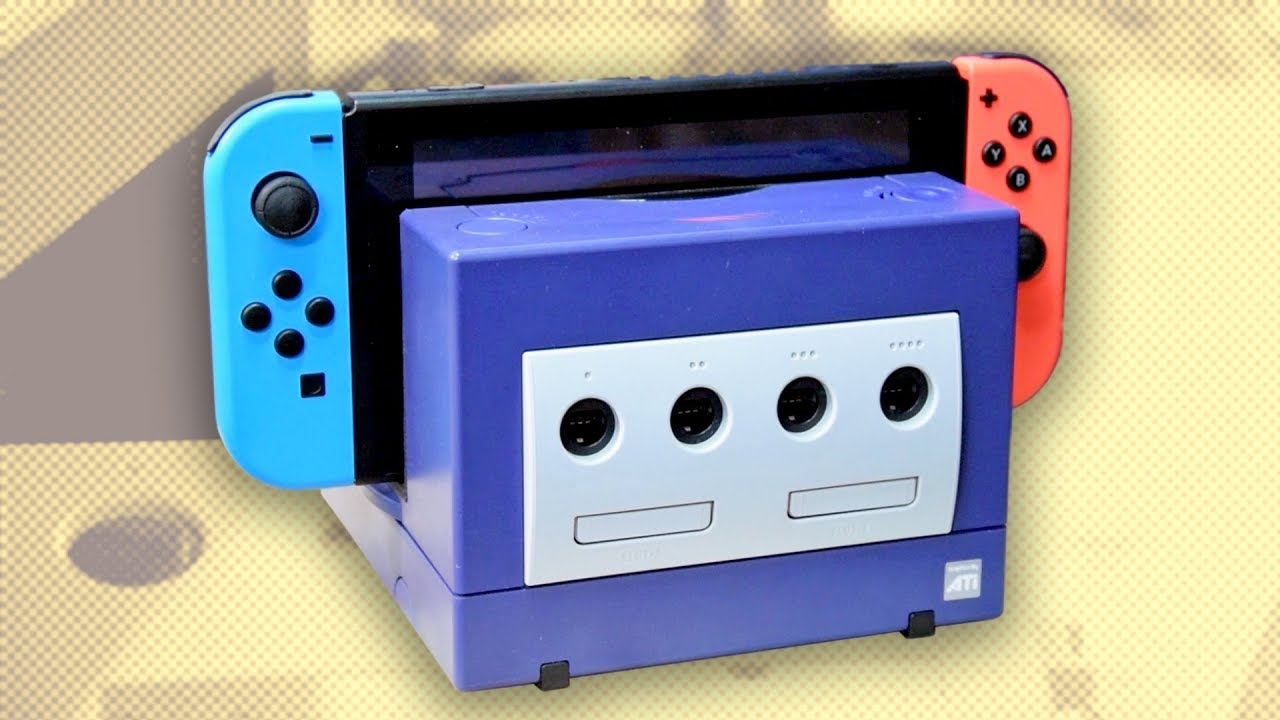 Purple Gamecube Dock For Nintendo Switch An Update