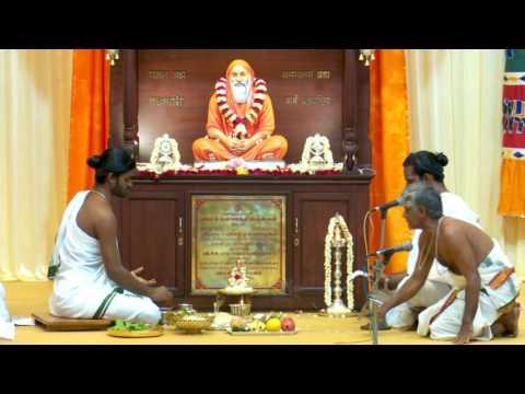 Nirguna Manasa Pooja For Swami Dayananda Saraswathi Statue At Rajapalayam On 23.11.2016