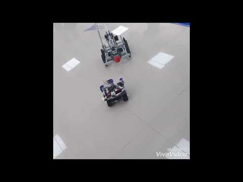 Robot red tracker using raspberry pi