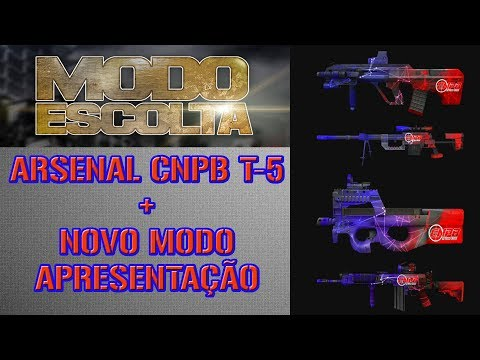 ARSENAL CNPB T-5 + NOVO MODO ESCOLTA [Point-Blank]