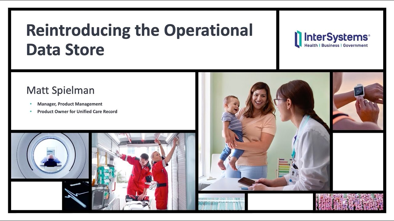 Reintroducing the Operational Data Store