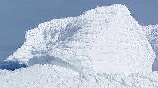 [グレートネイチャー] 世界一過酷!?氷点下の強風が生み出す異次元の世界   アメリカ   NHK