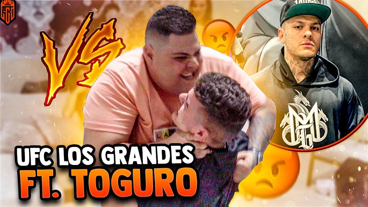 O PROZIN SOFREU NA MÃO DO MAUMAUZK NESSE DESÁFIO DE UFC!! FT TOGURO - LOS GRANDES FREE FIRE