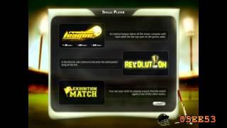 Cricket Revolution Pc Walktrough (W/Commentary)- Intro