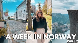 Stavanger & Pulpit Rock Norway Travel Vlog: Part 2