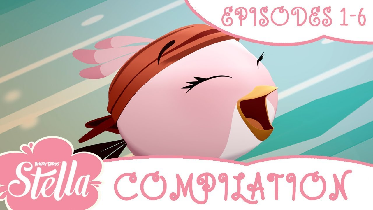 Download Angry Birds Stella Compilation   Season 2   Ep1-6