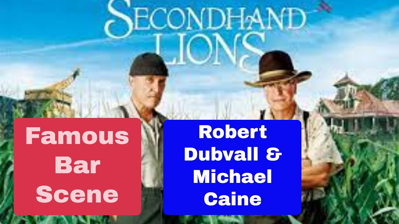 Download Secondhand Lions Robert Duvall Bar Fight Scene
