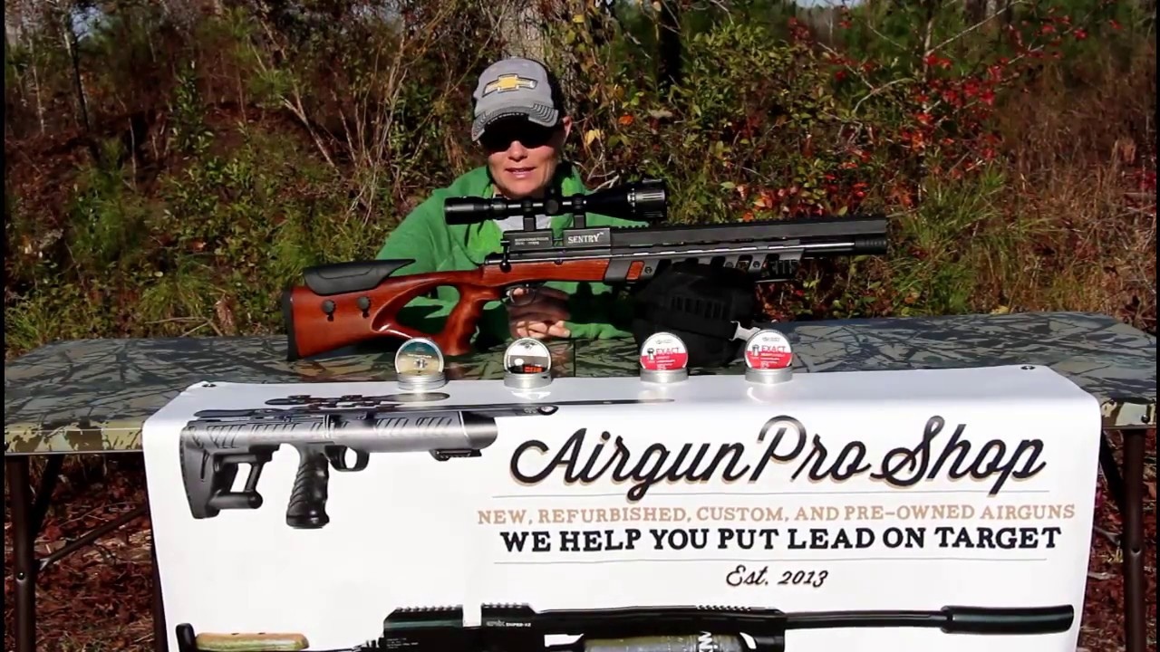 Airgun Angie's on a mission! What is the Xisico Sentry's Favorite Pellet!