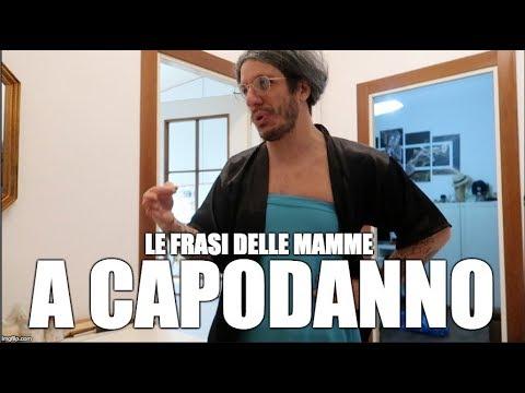 LE FRASI DELLE MAMME A CAPODANNO