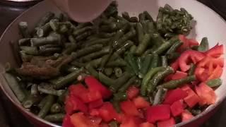 Салат из зелёной фасоли. ПП. Правильное питание
