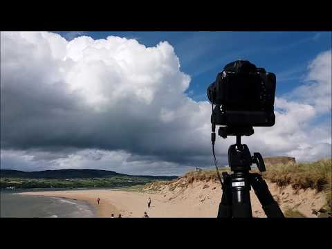 Storm Clouds & Convection At Magilligan Point - DSLR Time Lapse & Vlog