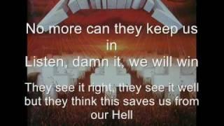 Welcome Home(Sanitarium) - Metallica Lyrics