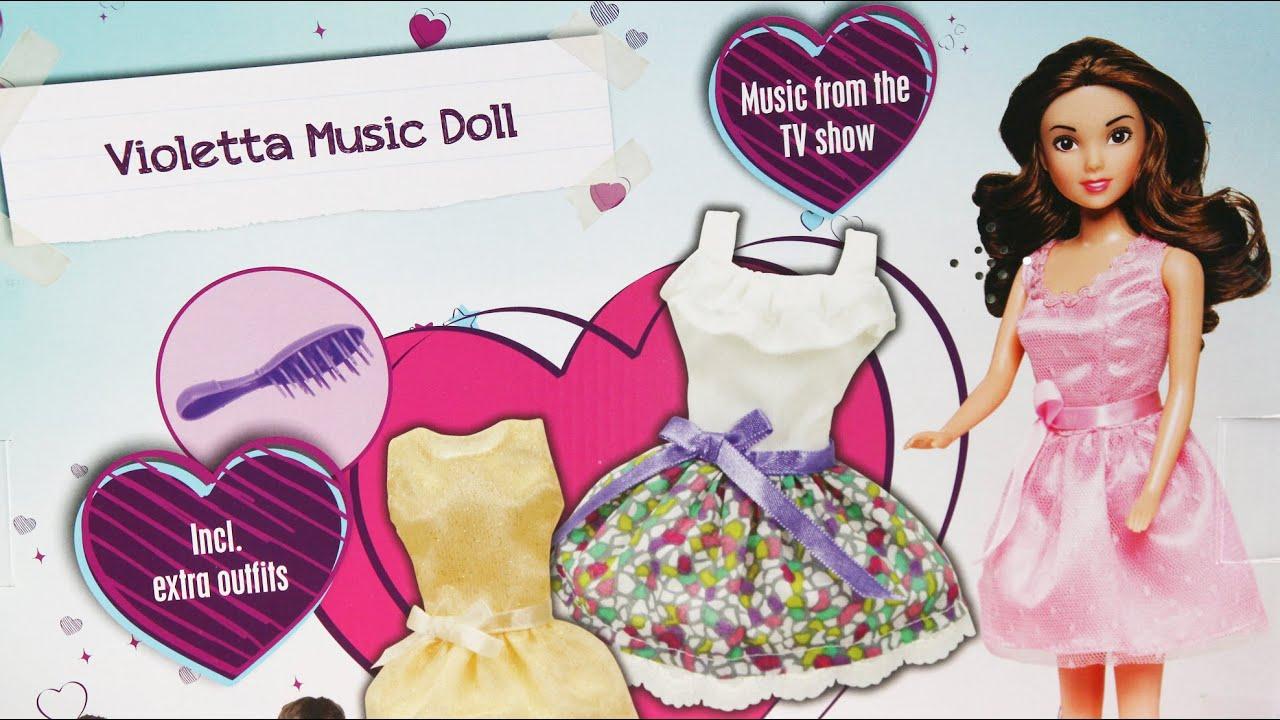 Nowoczesna architektura Violetta Music Doll Set / Zestaw Lalka Śpiewająca Violetta + KU53