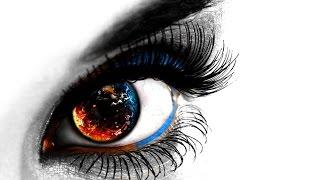 🔴  Эффект c Глазами в Фотошопе CS6. Лучшие уроки по фотошопу.
