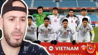 REACTION to  U23 Việt Nam vs U23 Qatar - Highlights \u0026 All Goals (23/01/2018)