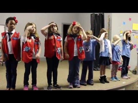 American Heritage Girls TN7777 Oath Song