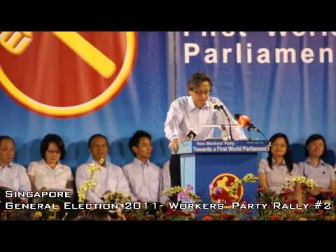 2011 General Election - Workers Party - Chen Show Mao