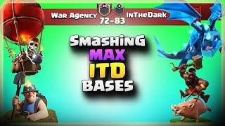 War Agency VS InTheDark | TH12 War Recap #42 | Clash Of Clans | 2018 |