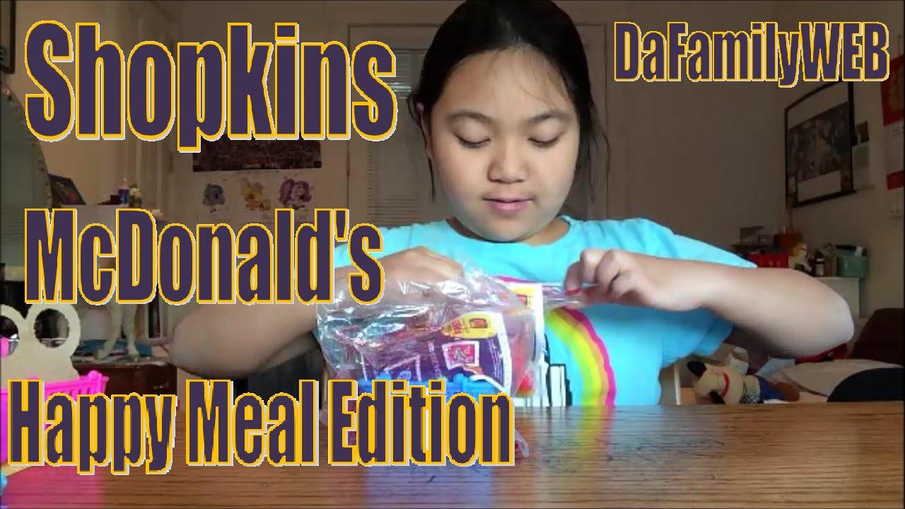 Another Try At Slark Ultra Rare: Shopkins McDonald's Happy Meal Edition! Ultra Rare? Rare