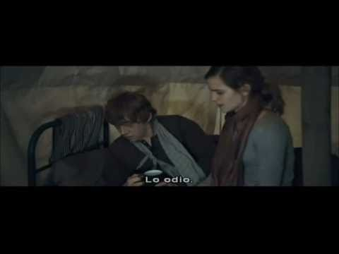 Rupert Grint: Deleted scene with Daniel Radcliff and Emma Watson in Deathly Hallows Part 1