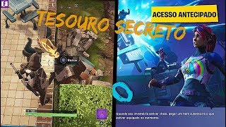 FORTNITE: SECRET TREASURE OF THE WEEK 7 FOOT ON THE ROAD