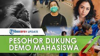 VIDEO: Deretan Pesohor Hiburan Tanah Air yang Mendukung Secara Nyata Demo Mahasiswa Tolak RKUHP