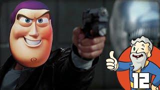 """BUZZ LIGHTYEAR VS I-ROBOT!!!"" Fallout 4 Part 12 - 1080p HD PC Gameplay Walkthrough"