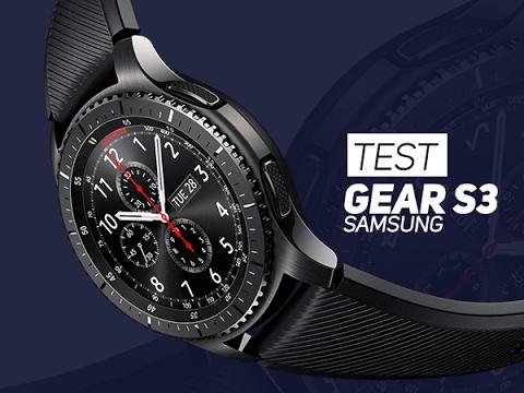 TEST : Samsung Gear S3, plus quun gadget ? - W38
