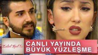 Zuhal Topal'la 166. Bölüm (HD) | Uğur ve Güler'İn Canlı Yayında Büyük Yüzleşmesi...