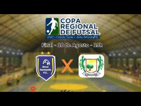 I Campeonato Regional de Futsal de João Alfredo