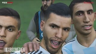 PES 2019 Demo France vs Argentina HD Gameplay (Xbox One, PS4, PC)
