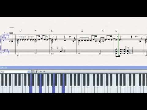 Partitura piano el jardin prohibido sergio dalma demo for Cancion el jardin prohibido
