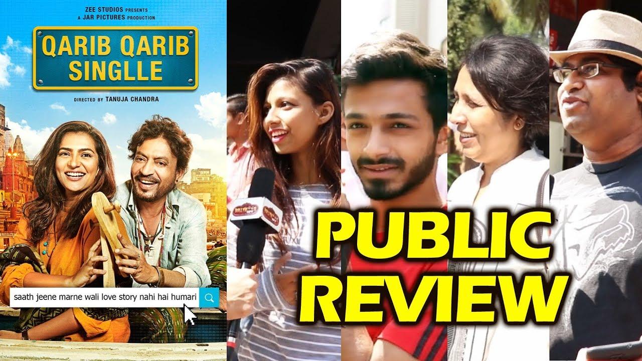 Download Qarib Qarib Singlle PUBLIC REVIEW   First Day First Show   Irrfan Khan   Parvathy