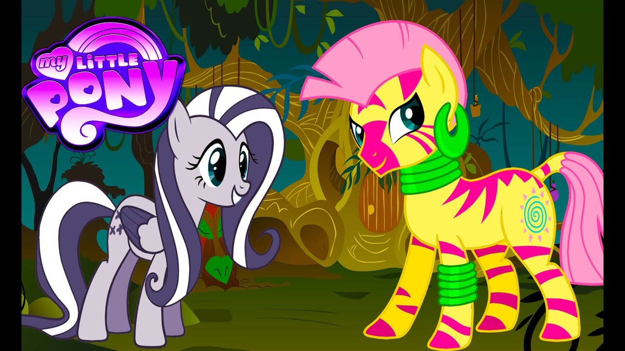 My Little Pony Transforms Color Swap Fluttershy Zecora