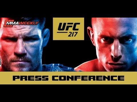 UFC 217 Bisping vs St-Pierre Post-Fight Press Conference