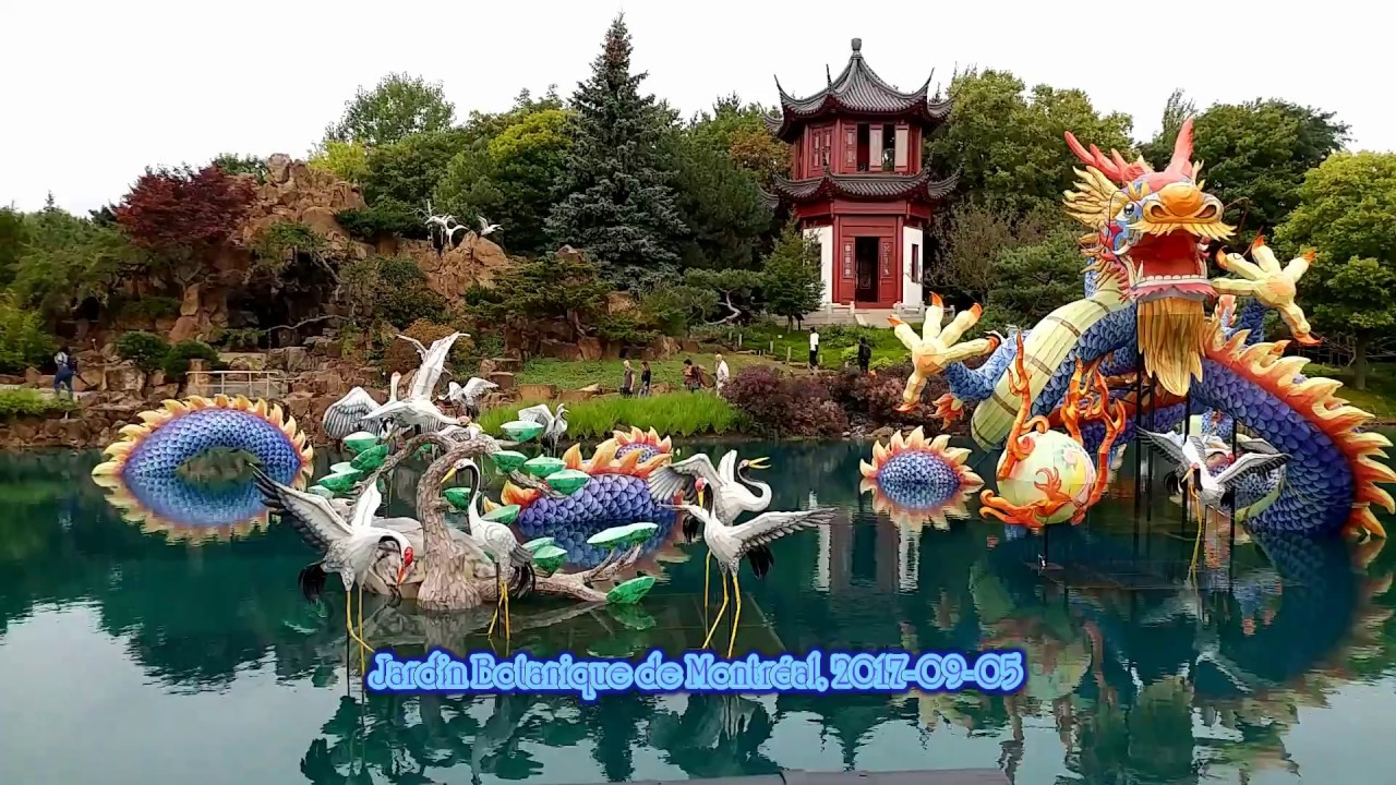 Jardin botanique de montr al 2017 09 05 youtube for Jardin jardin 2017