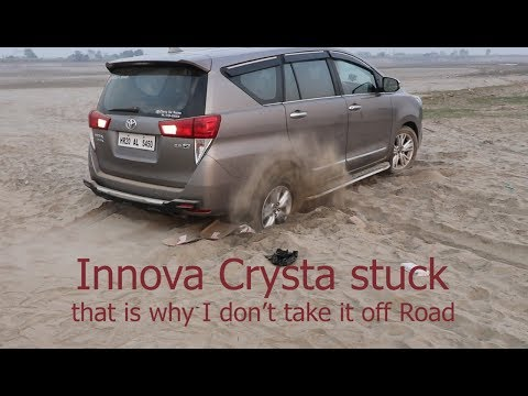 Never try off Roads with Innova Crysta (IMB) it's me Bishnoi