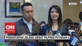 Ira Koesno & Imam Priyono Siap Jadi Moderator Debat Pilpres Putaran 1