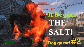 My (1 Int) dog quest Part 2 | Fallout 4 game play and commentary