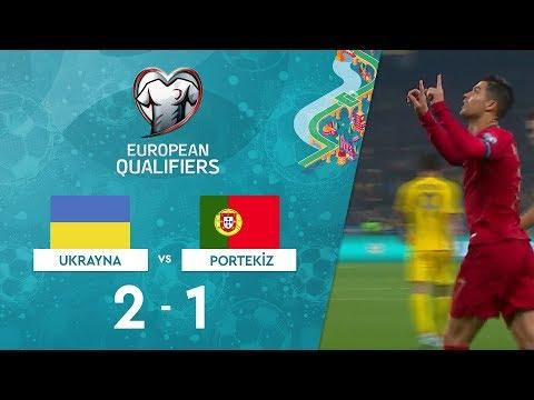 Ukrayna 2-1 Portekiz | EURO 2020 Elemeleri Maç Özeti - B Grubu