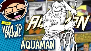 How to Draw AQUAMAN (Comic Version) | Narrated Easy Step-by-Step Tutorial