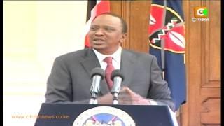 Kenyatta Defends Govt Restructuring